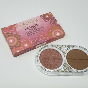Pacifica Bronzed Rose Blush & Bronzer Makeup Duo